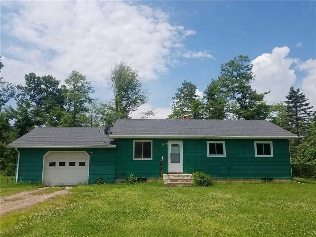 Beautiful, peaceful setting in the Blue Hills! Enjoy the mountain top like view from your own backyard. Home is situated on almost 2 acres. This cozy 3 bedroom home has a cabin feel with knotty pine in throughout the living room. 1 car attached garage and a full basement for additional storage space.