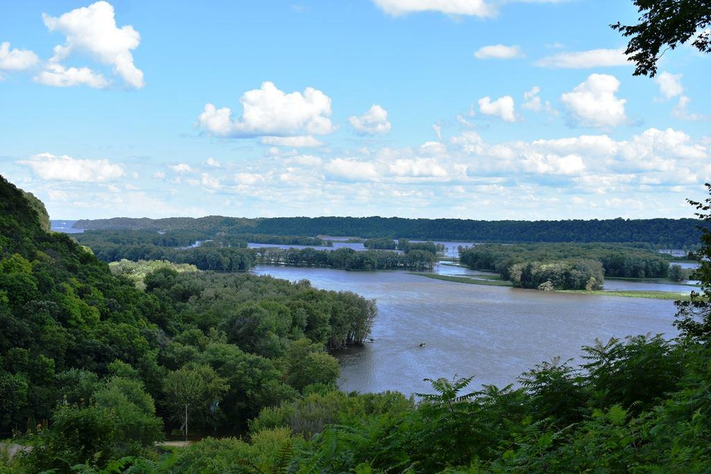 Build your dream home on this spectacular lot with an amazing Mississippi River view!  You'll never want to leave home on this 3.09 acre homestead located in a very quiet neighborhood approximately 35 minutes North of Dubuque near the Great River Road.  Over $23,000 worth of improvements made to the lot. Also features 40 Acre Common area for you and surrounding neighbors enjoyment. Boat landing, RV trails, Potosi Brewery & winery nearby.  A must see - it's worth the drive!  Owner financing available.