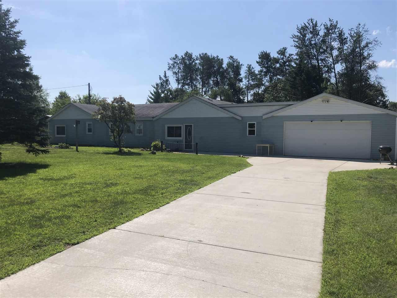 Bring your ideas.........so much potential in this almost 1900 square feet ranch home, with 3 bedrooms and 1 full bath. Great yard and space for entertaining. Also has a huge 40x15 workshop