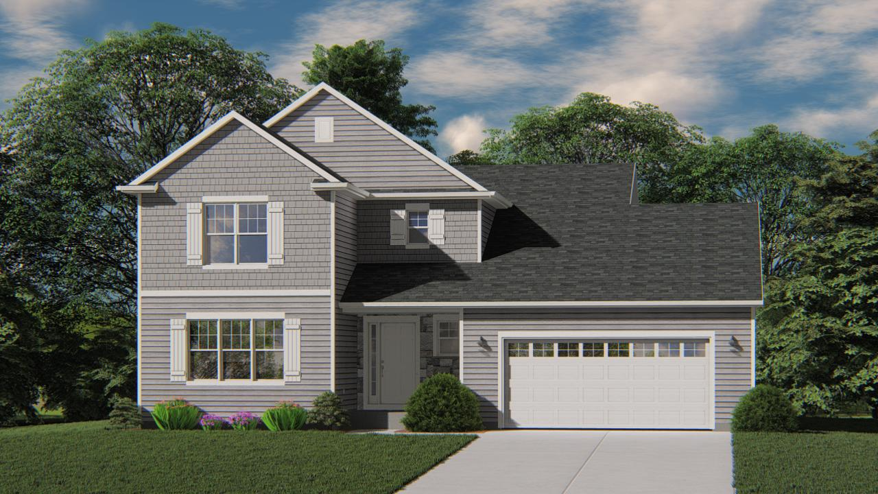 New Construction - Ready in January 2020. The Dover model features 4 BR's and 2.5 BA's. The kitchen offers plenty of storage space complete with a large kitchen island and granite CT. The Family Room includes a corner gas fireplace with Stone Detail. Owner's Suite features a Walk-In Closet and a box tray ceiling. Other Highlights include Large Rear Family Foyer, first floor Laundry, 3 Car Tandem Garage and MUCH MORE!