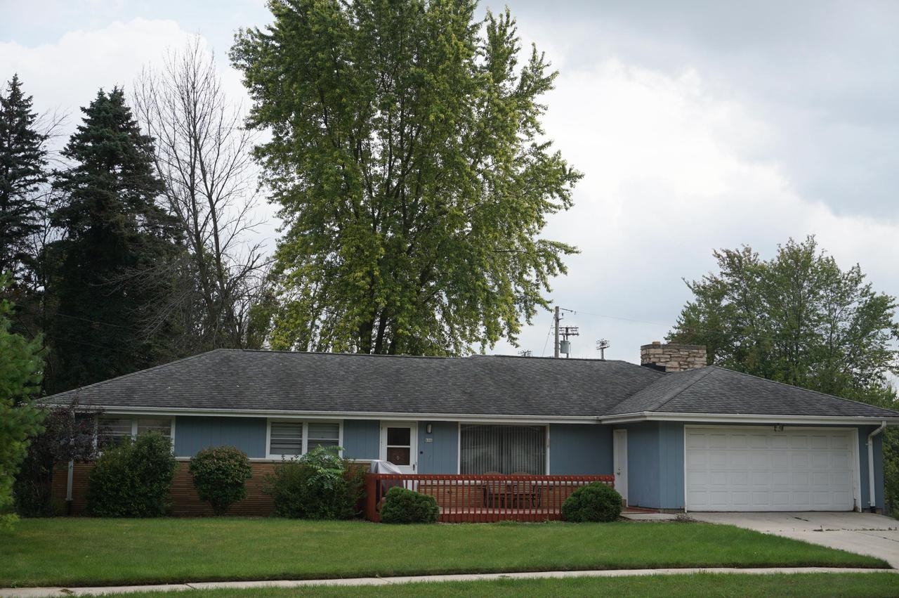 Enjoy the great location of this spacious 3br/1.5ba/2.5 car garage ranch. Enter the Great Room offering vinyl plank floor which is open to the Dining area with Patio doors leading to a concrete patio overlooking a private backyard. Kitchen with pantry & peninsula and lots of cabinetry with built-in china hutch.  3 generous size bedrooms with Hardwood Floors. Family Room features new carpeting, Natural Fireplace and crown molding.  Lower level is unfinished and waiting for your finishing touches.