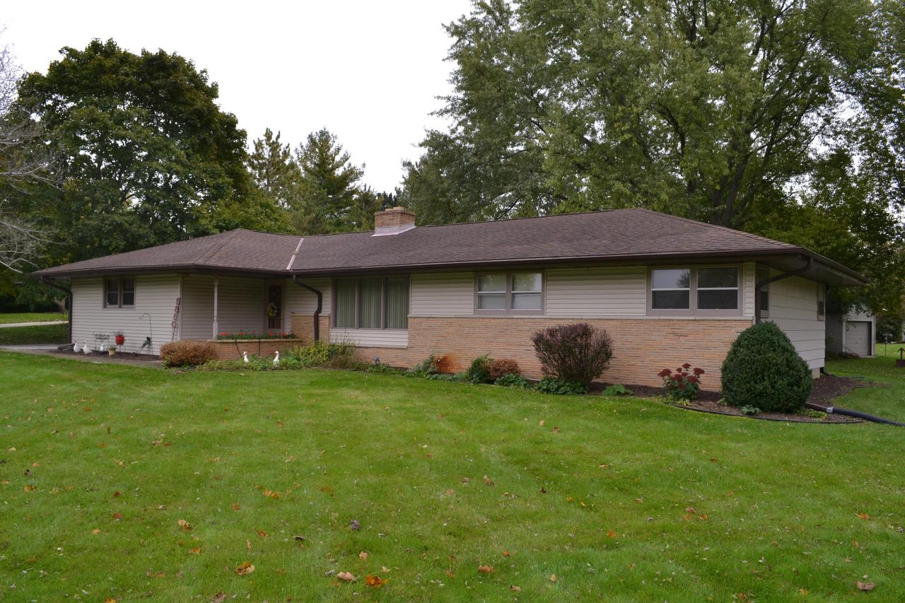 3 Bedroom Ranch in New Berlin!  Nestled on a half acre in a cul-de-sac with several exterior upgrades. This home boasts hardwood floors, stainless steel appliances, wood burning fireplace and a beautiful back patio.  Your New Home Awaits!