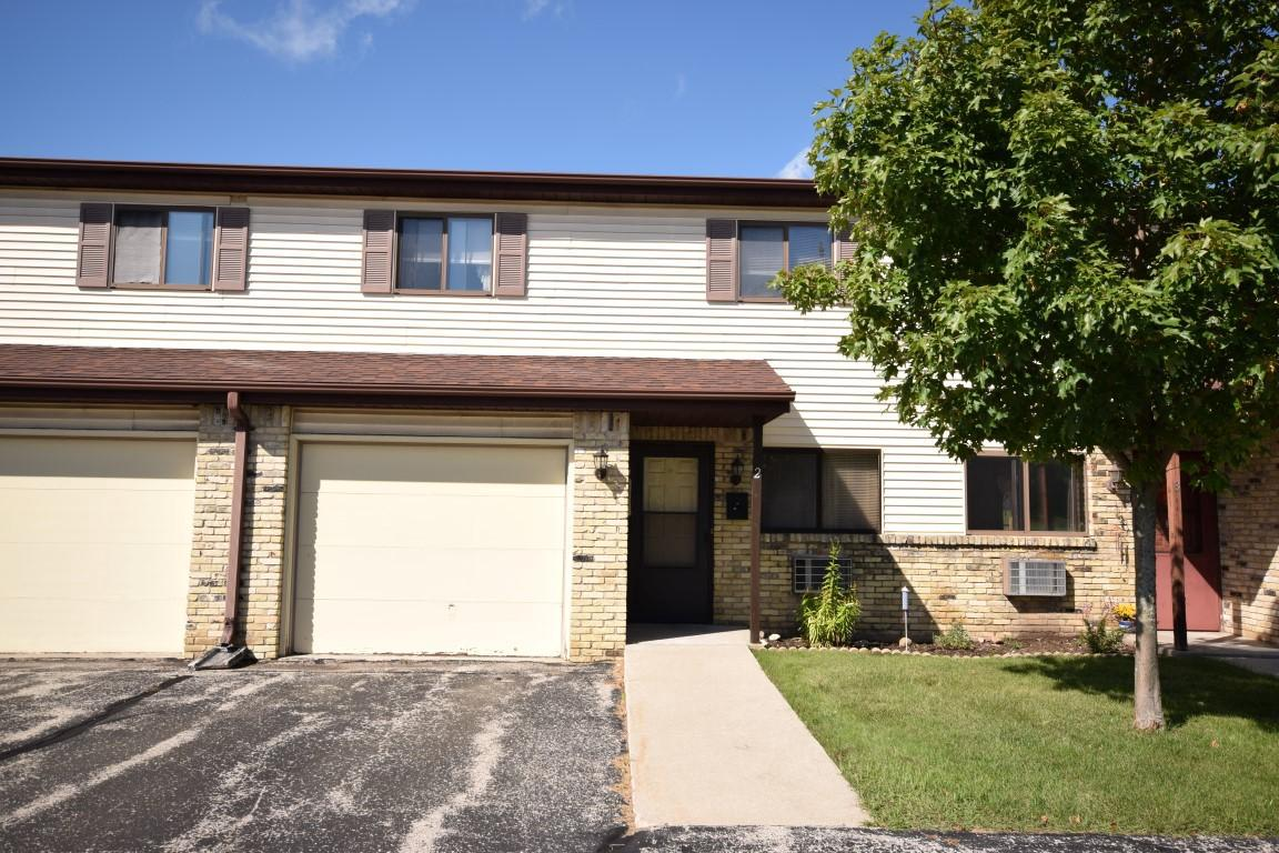 Come see this updated 3 BR, 1.5 BA condo with nice sized private patio and attached 1 car garage.  Features include newer flooring in kitchen, all appliances included (in unit washer/dryer are newer,, private entrance, pets allowed, playground for the kids.  Nice bedroom sizes.  Call today!