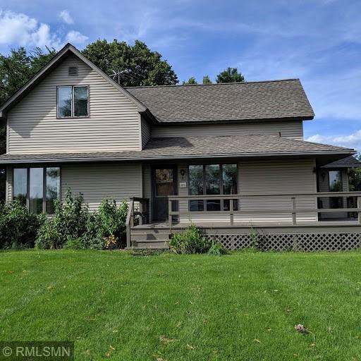 What a gem! This farmstead could be yours. Great bones in this meticulously maintained home with a newer addition adding a main level master suite and laundry. 3 good sized bedrooms up, huge living area on the main level allow for plenty of room for all.  The lower level is ready for your touches to add even more finished square footage. 30 x 40 pole shed/garage and small barn gives you room for toys. Location is quiet, serene and perfect for a nice hobby farm. Come see today!