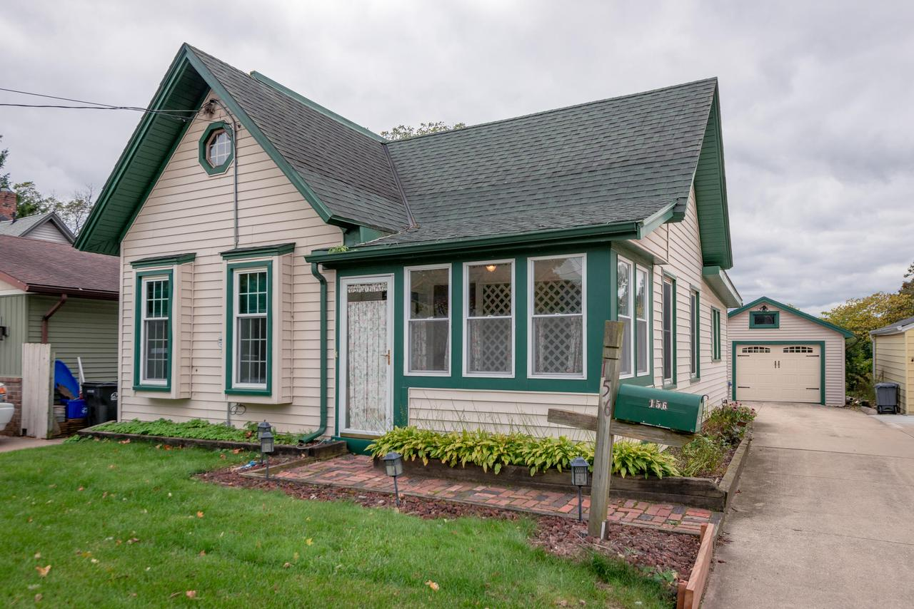 Welcome home to this beautiful 1.5 story Cape Cod in Waukesha. Kitchen opens through french doors to the nicely refinished back yard deck. The windows, water heater and garage door were installed in 2018. Little to no maintenance siding. Enjoy the large bathroom with a separate tub to shower next to a main floor laundry. This home has a large upper bedroom overlooking the beautiful backyard and a walk in closet. Hurry, take advantage and purchase this charming home while the interest rates are low.