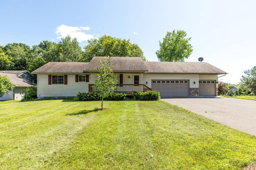 Welcome Home! Come view this lovely one level home with vaulted ceiling, openfloor plan, large bedrooms. Situated on a private lot makes this a must see.This home sits on a half acre and the vacant lot next to it is included aswell, totaling just under an acre. Do not miss out on this home!
