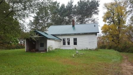 Just what you've been looking for. This property features an older 3 BD, 1 BA farm home with outbuildings.  The home has a new; metal roof, well, and septic system.  With a little TLC this could be very nice. There's a 36x60 pole shed with loft for extra storage and concrete floor,  a water hydrant, a milk house with new metal roof, a corn crib and silo.  All of this located on 19 acres which includes a large hay field.  This is just missing you, your horses and/or cattle.  Perfect Hobby Farm!  This property also borders a beautiful creek.  Please see docs for further details.