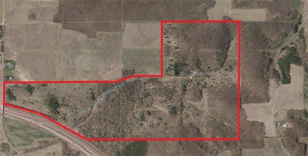 This 194 acre hobby farm located on a dead end road minutes from Osseo.   Two bedroom, 1 bath, detached 2-car garage, 30x40 machine shed and granary.  Newer well and septic, roof and siding.   Property features both mature woodlands as well as areas of immature forests.  Previous tillable fields have not been touched in over 20-yrs (organic possibilities).  Otter creek runs through the property creating a deer haven.   Abundant wildlife including deer, turkey, bear.  A must see for hunters!