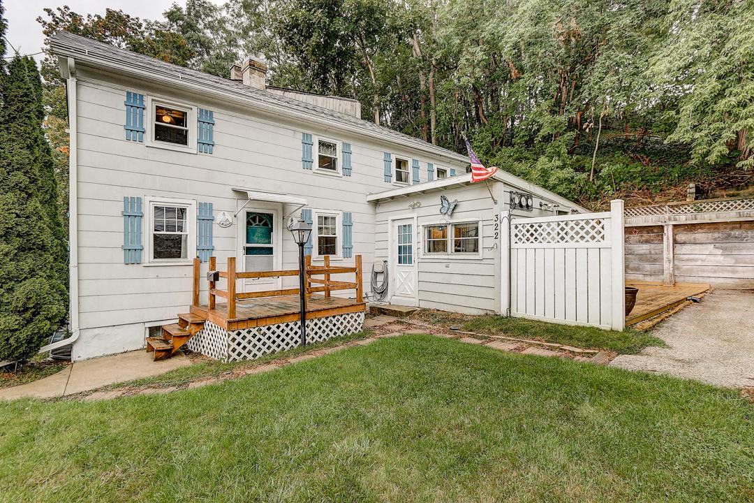 This home has 2 bedrooms plus a loft and its located only a couple of blocks west of the charming & quaint downtown Port Washington & Lake Michigan. The kitchen has been updated w/newer cabinets & corian counters. The full bath has some newer updates and the home has newer windows throughout. There's also a private driveway w/ample parking for approx 3-4 vehicles. There's an attached foyer area on the east side of the home that provides for more storage, there's a full basement, a storage shed and a gated storage area. This home has great walkability, the location of the property is considered desirable because of its close proximity to downtown and the lakefront. It's also close to the library, schools, the Interurban bike trail, coffee shops, shopping, restaurants, pubs, marina and parks
