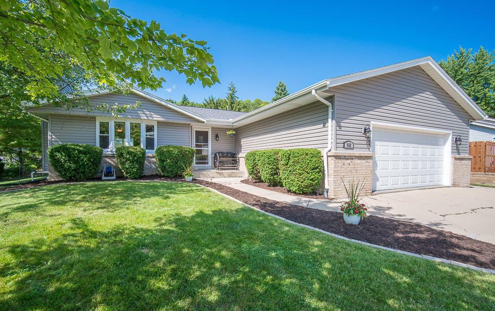 Turn-key property in highly desirable location and Slinger School District!  Pride of ownership shown throughout home with multiple updates.  Newer Windows, Siding, Roof, Garage Door and Back Patio Door were ALL replaced in 2016!!  No more walking down the stairs to do laundry, main floor Maytag washer/dryer combo! Summer Nights to be enjoyed w/ a fire in your back fire pit, or on your private deck.  Curl up to your gas fireplace in living room w/ vaulted ceilings during the winter months.  Fourth bedroom added w/egress window in basement-2017.  Other updates include: Furnace, A/C & Water Heater in 2017, Water Softener- 2018, Top it off with newer appliances, fans, and fixtures, these homeowners have taken care of the large ticket items for you!