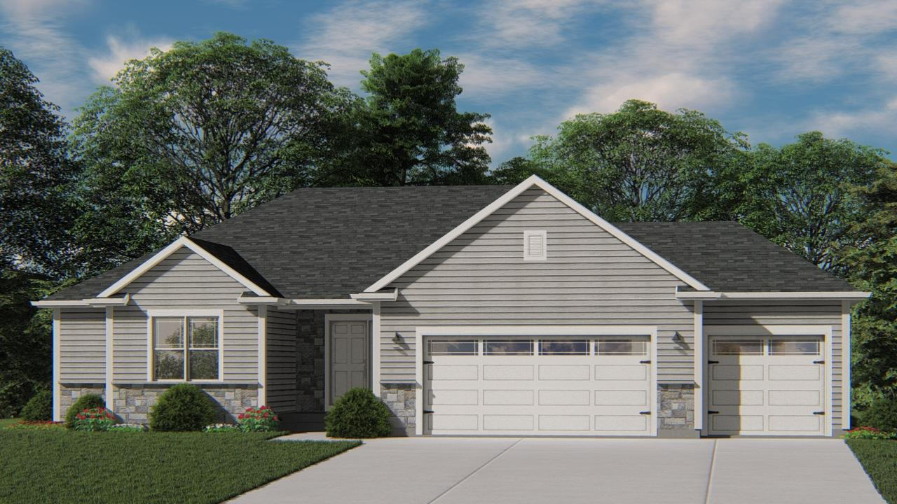 NEW Construction- Ready February 2020! Located in the Willow View Estates subdivision in West Bend, this beautiful Caspian model has all the amenities you are looking for! Kitchen includes Granite Countertops, Workspace Island with overhang for seating, and is open to Family Room which has corner Gas FP and box tray ceiling. Owner's Suite features Large Walk-In- Closet, and Double Bowl Vanity. Egress window in the lower level and full bath rough-in for future expanded living space. Don't miss out on the opportunity to see everything this new home has to offer!