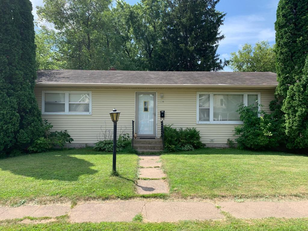 This home is in a fantastic location just 1 block from the Apple River boat landing and walking distance to downtown Amery. Very well kept home mid century modern with lovely hardwood floors. This home has been used as a single family and duplex as the lower level has it's own entry and full amenities.