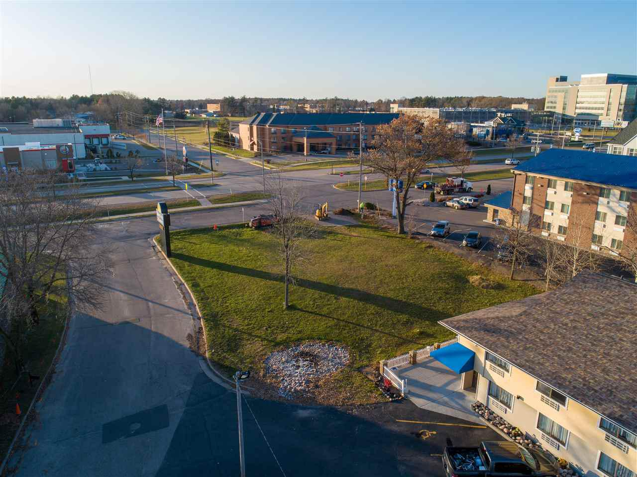 Fantastic commercial building opportunity! This 0.3 acre lot has great exposure on Division St on the north end of Stevens Point. High daily traffic count. Close to the University, restauraunts, hotels, and many other businesses and employers.  Property is zoned B4 Commercial. Don't miss out on this great location for your future business!