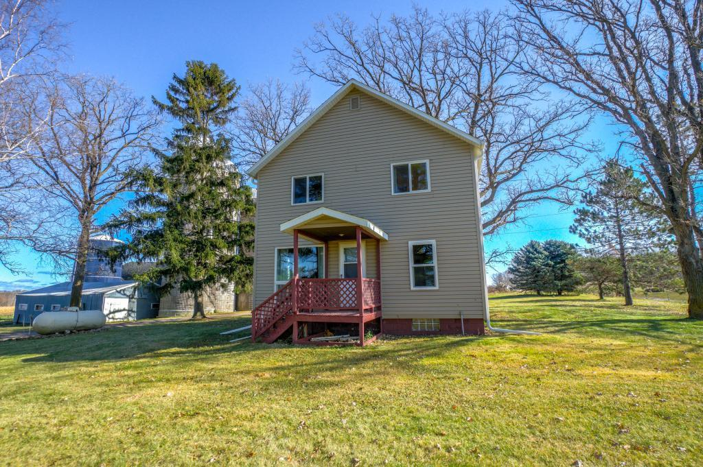 Bring the horses! Hobby Farm on 40 private acres just 5 miles from I-94. Well cared for home with tons of updates including a stunning white kitchen and updated baths. This three-bedroom home is in move-in condition and offers a huge laundry/mud room with great storage. A must see!