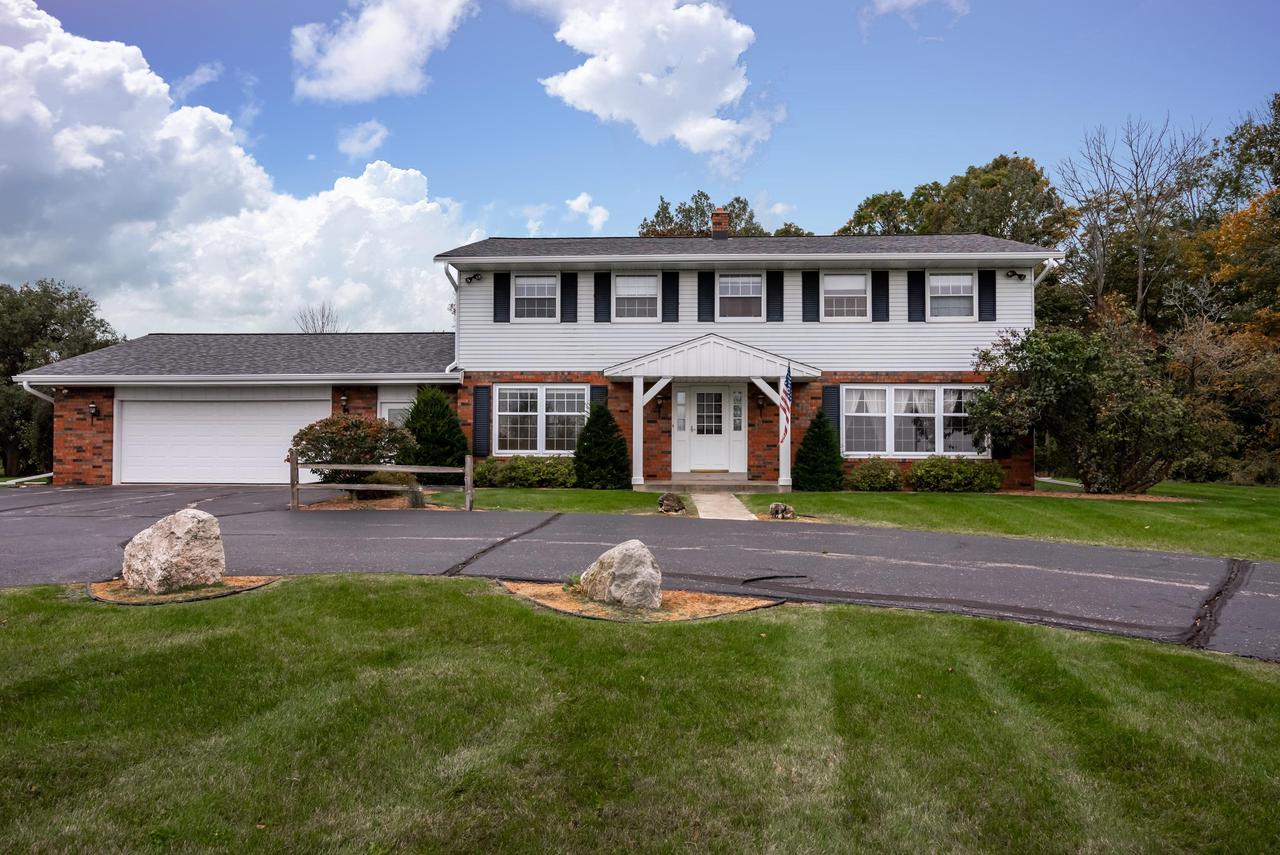 Welcome Home! This colonial offers lots of space inside & out! 5 Bdrms, 3 ba, 2 fireplaces & outbuilding. Great opportunity to bring your updates/design ideas. Home will sit on 6 acres (+/-). Seller has sold 8 (+/-) of the current 14 acres. Current tax amount reflected here is for the 14 acres. Once new survey is completed & approved by the town, new tax assessment will be determine. Strongly encourage interested buyers to connect with the Town of Trenton Zoning/Planning for rules on animals, outbuilding, etc. for 5 - 10 acre parcels.