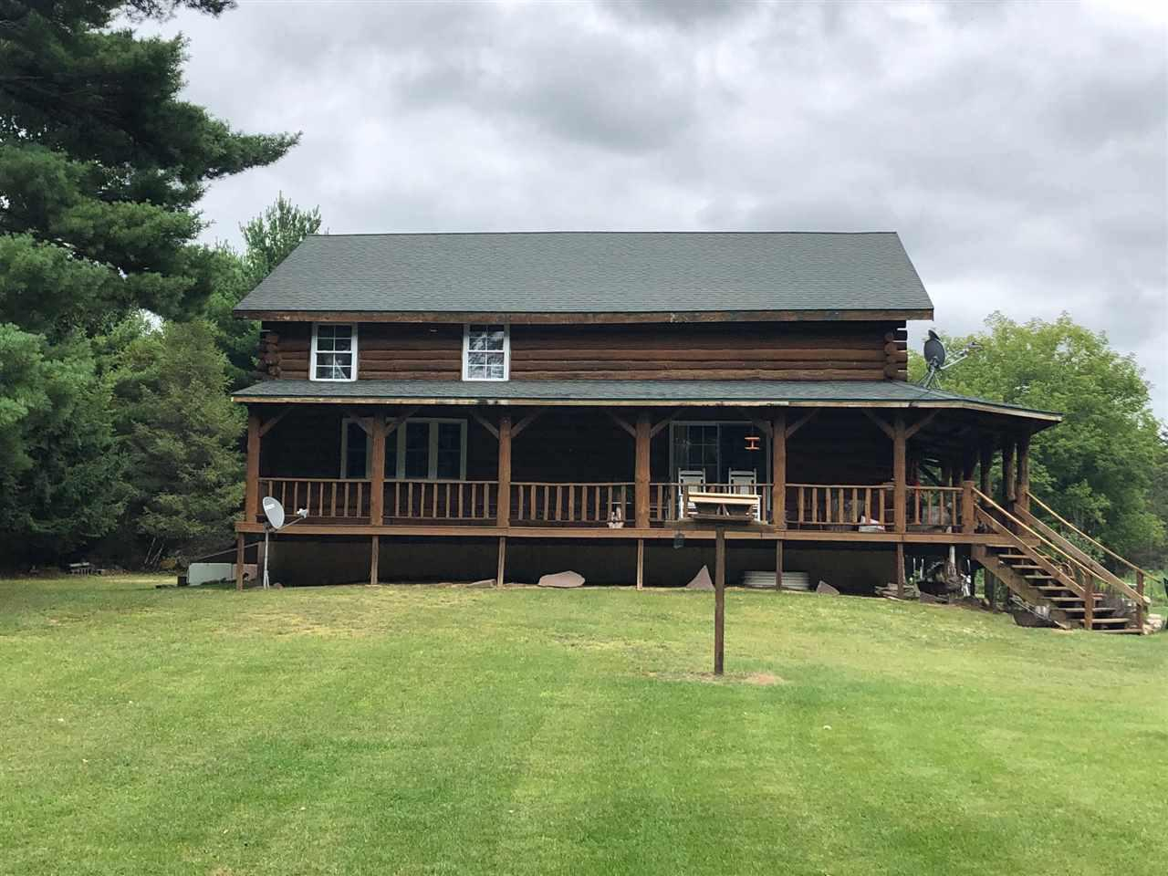 VPR $369,900 to $389,900. 38+-acres ! The amazing log home sits on some of the best hunting land in the area. The kitchen offers loads of custom cabinetry & most appliances are included. Relax on your covered porch overlooking a spring feed pond in your private back yard. Relax in your large master bedroom made complete with plenty of closet space & a large bathroom just steps away. Bring your horses! This property is set up great for keeping horses. Additional acreage & buildings including are barn can be included for additional cost. Call for  details or to set up a private tour.