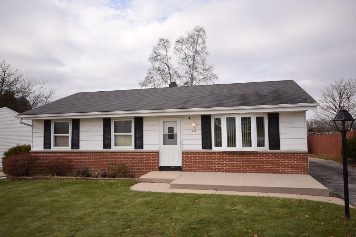 Come see this well maintained 3 BR ranch home on 1/4 lot with no neighbors directly behind you.  Features eat in kitchen, nice sized living room with new carpeting, newer windows, freshly painted, large lower level with work shop area and another area perfect for future rec room.  Detached 2.5 car garage.  Call today!