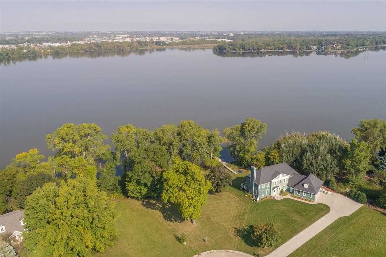 Build your dream home on this amazing cul de sac lot with 116 feet of waterfront. Amazing sunsets on this semi-wooded lot. Elevation could allow for walkout.  Survey is available, lot is staked out with lot lines and set backs.