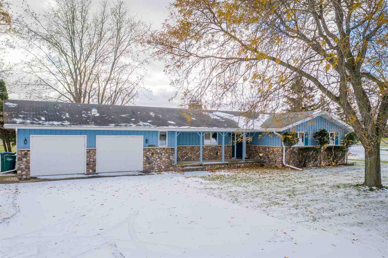 Own this dream property located just five miles from downtown Appleton! View turkeys, deer, sandhill cranes, geese & more with the Bubolz Nat. Preserve bordering your backyard. This 1600 sq ft Ranch home with central air, fireplace, 2 car attached garage & a 42x70 heated pole building with 220 electric and 6? concrete floor, 3 separate rooms with interior overhead doors in each, insulated lined and heated. Meticulously maintained and very well built, this home has had many updates and is ready to move in. Approx. 2 AC (subject to survey), but additional acres could be available! Horses allowed