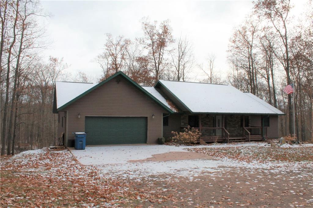 Exquisite 5 bedroom/4 bath home on 34+ country acres! Features are breathtaking, including the large kitchen with many beautiful cabinets, two stone fireplaces, bar, master bedroom with walk in closet, full basement, 2 car attached garage and so much more! Truly a must see to appreciate.