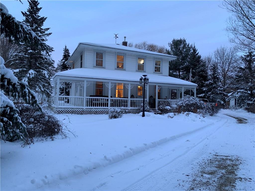 Rare opportunity to own a 5.9 acre hobby farm just 6 miles from Stillwater! Gorgeous setting with mature trees and privacy that comes from being the last property on a dead end street.  You will fall in love with everything this property has to offer: Hardwood floors, cozy gas fireplace, huge garage/shop, custom out door gazebo, large deck and wrap around porch for entertaining. Enjoy Country living with all of the conveniences of being close to the city!  This property is priced to sell!