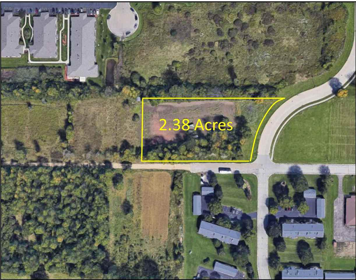 Prime commercial property just off of high traffic HWY 441 and Appleton Rd, Menasha. 2.38 Acre site for multiple development opportunities.