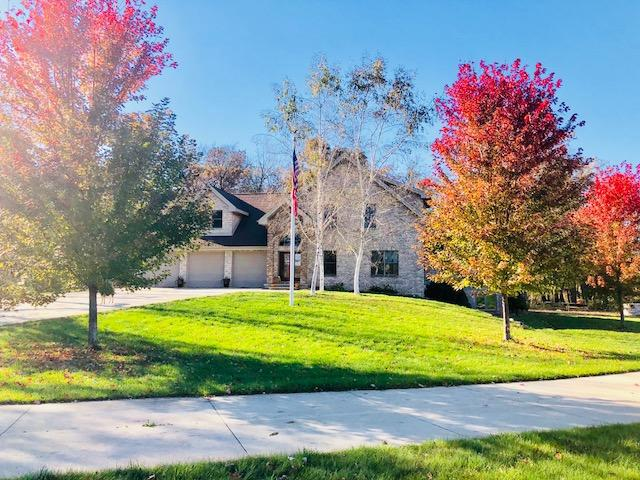 ULTIMATE COUNTRY ESTATE! 38 ACRES, 3300 FT FRONTAGE ON CRAWFISH RIVER, NEW 3/4 ACRE REGISTERED FISH FARM POND, 30' DEPTH, COST $125K IN 2016, BRICK ALMOST 4000 SQ FT UNBELIEVABLE BEAUTIFUL 3 BEDROOM 3 1/2 BATH HOME: VAULTED CEILINGS, 2 WAY FIREPLACE, WATERFALL IN LIVING ROOM, HUGE KIT, BEAUTIFUL WOODWORK THRU-OUT, MASTER SUIT, 3 CAR ATTACHED GARAGE W/STEPS TO FINISHED BASEMENT...ALL THIS ON PRIVATE ESTATE WITH A 40 X 60 SHOP WITH BOTH A 100 AMP & 300 AMP SERVICE...HEATED OFFICE AND YOUR OWN PRIVATE WOODS WITH YOUR OWN GENUINE LOG CABIN IN THE MIDDLE WITH ELECTRICITY!  FISHING-HUNTING-SWIMMING-SECLUSION!!!  THERE IS TRULY TOO MUCH TO LIST...