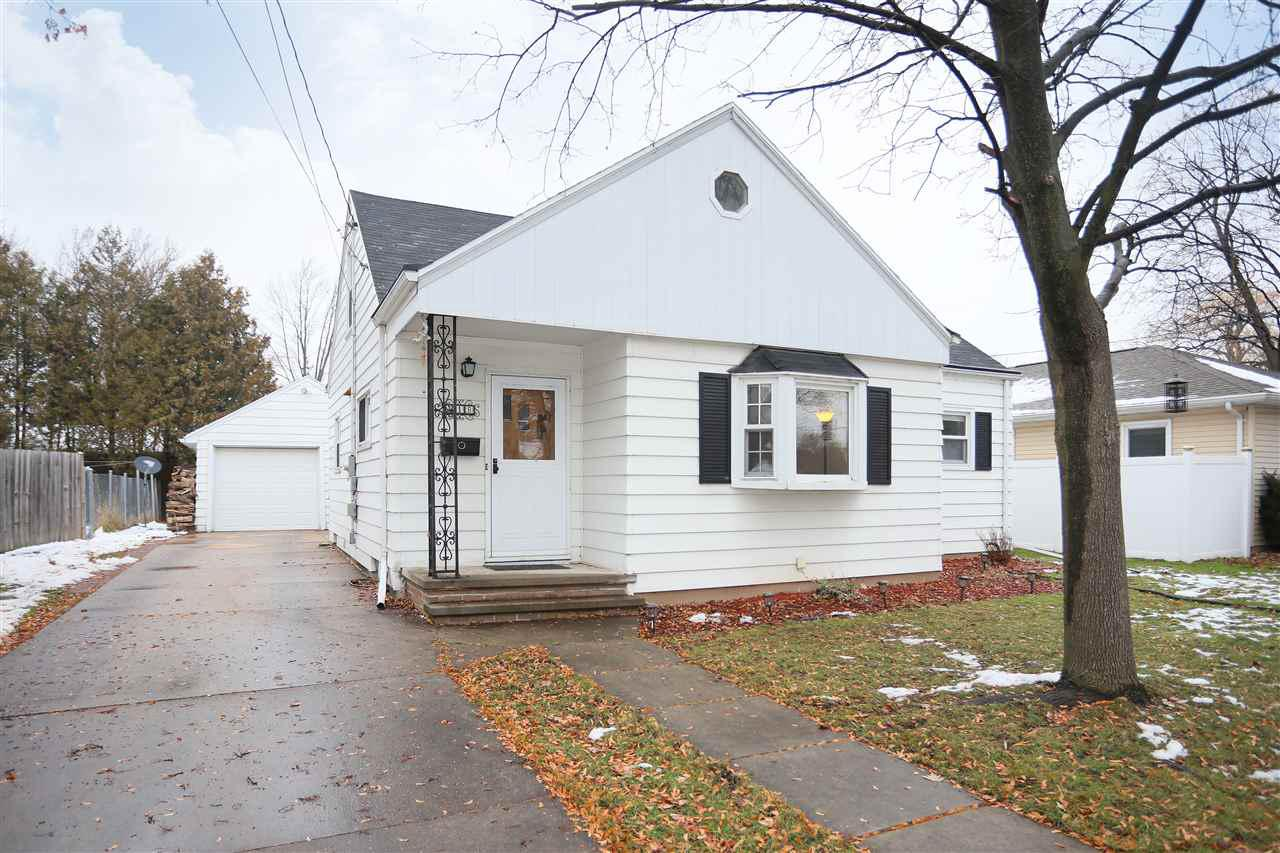 Ready to move in 4 bedroom 1 bath Cape Cod. Spacious living room with bay window leads into the kitchen with island and appliance package included. Master Bedroom on main level. Additional bedroom and full bath complete the main floor. Upstairs you will find two bedrooms and lots of storage. Lower level has a partially finished rec room.  Detached 1.5 car garage, fenced yard and screen porch with removable screens completes this home.