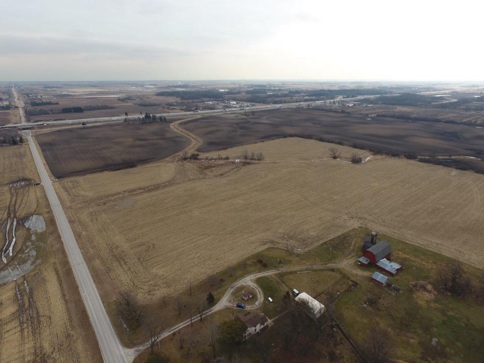 The value is in the land of 39 acres along the I-94 corridor.  Live or rent house.