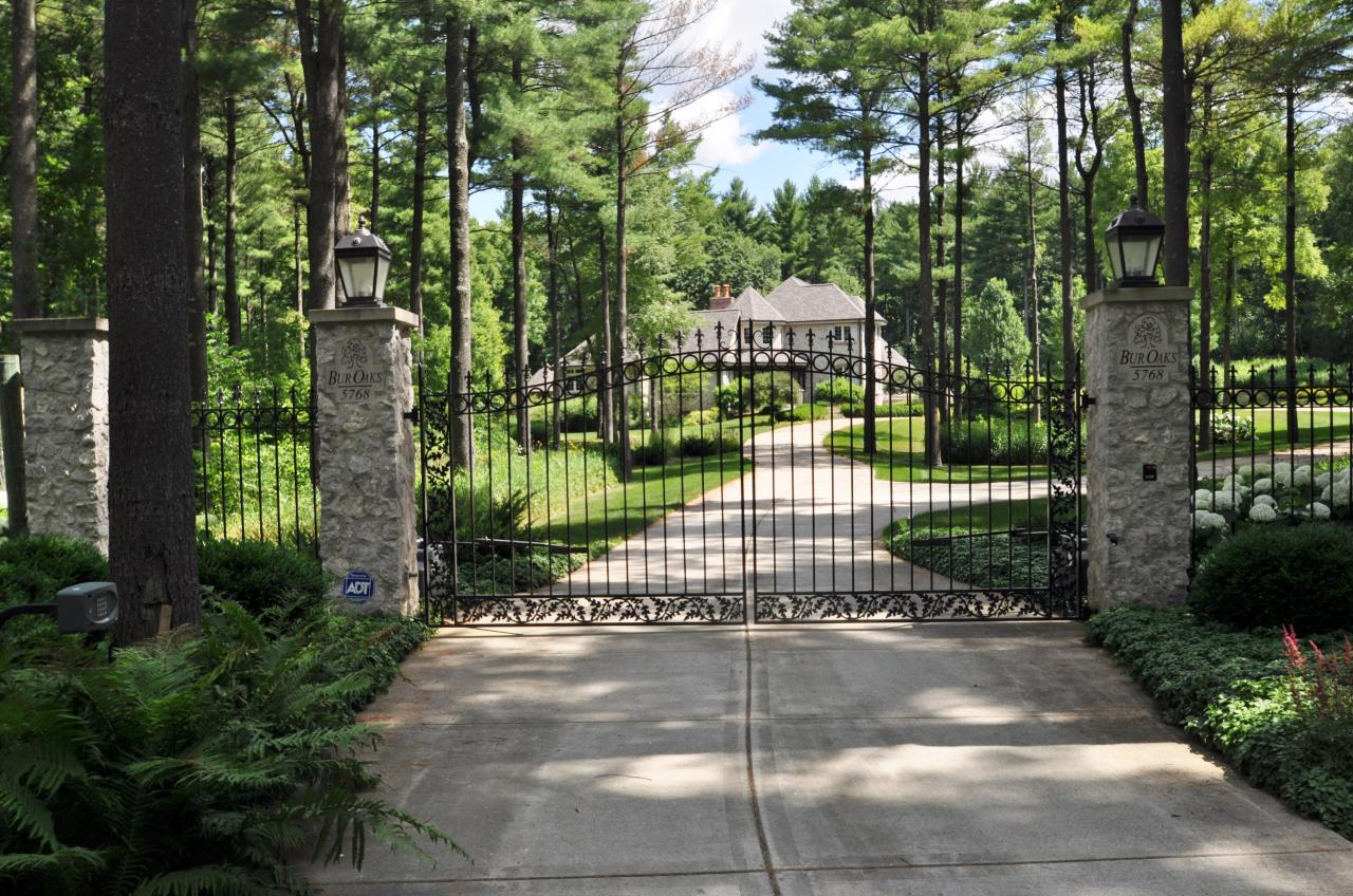 35 acres of wooded terrain, amenities for year-round enjoyment. Craftsmanship & detailing, French Country Retreat. Burmeister woodwork, Venetian plaster. Library, cherry woodwork & gas fireplace, Master Suite, views of landscaped grounds. Heated floors, gourmet Kitchen w/Viking appliances, cherry cabinetry, center island, granite counters, Butler's Pantry. Sun room with southern exposure & doors to 2nd Patio. Dining Room w/Hickory floors. Indoor pool w/beamed ceiling & Sauna. Elevator to Basement with Rathskeller, Mahogany Bar, Wine Cellar & more. Heated, 3.5 garage, restored barn & gazebo.