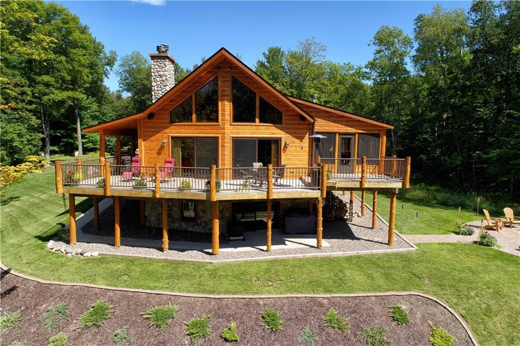 Homes With Storage Buildings Pole Barns For Sale In Cable Wi