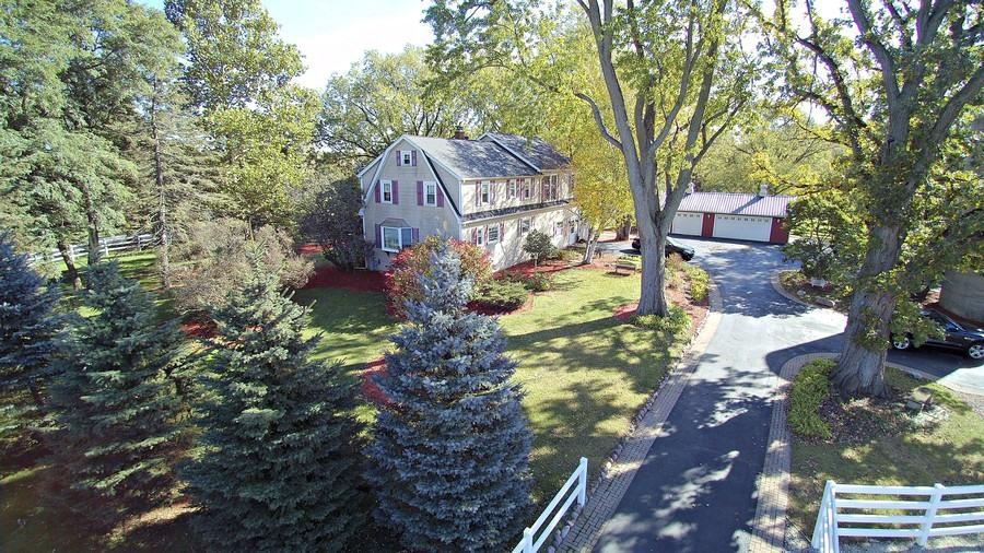 Stunning Farm nestled on 13+ acres. Located just over the boarder in charming Bristol Wisconsin. The recently renovated 4 bedroom/3 bath farmhouse features  first and second floor ensuite master bedrooms. Hardwood floors flow throughout this sundrenched beauty. Enjoy evening walks savoring the idyllic landscape. Every season brings its own splendor. Beautiful equestrian barn with office, 4 indoor stalls, and radiant floor heat can be repurposed for hobby enthusiast, car collectors, or artists. Fenced pastures and paddocks. Horse run-ins. Wonderful property for those that enjoy the outdoors.