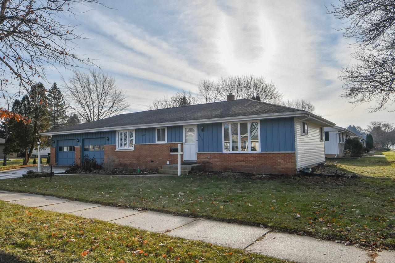 Welcome home to his freshly painted ranch.Refinished Wood floors throughout Bedrooms and Living Room! An oversized 2.5 car garage and shed for all your storage needs just adds to the appeal. The .23 acre corner lot is ready for a.family.