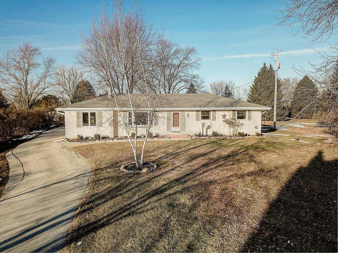 THIS ONE HAS IT ALL! Updated, spacious Ranch home on almost 2 Acres. Over-sized 2-car garage. 4 Bedrooms, 2 Full Baths. New outbuilding (currently being used as chicken coop). New mechanical systems. Updated bathrooms, new laundry room, finished basement, two large decks, large, eat-in kitchen and much more!