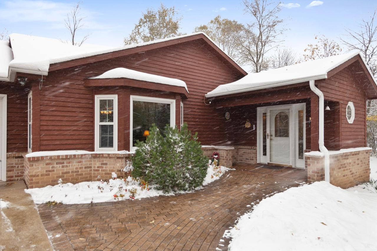 Custom-built, high quality and very well maintained ranch is set on a private, tree lined lot in the town of Trenton. You'll need to see it to appreciate all this home has to offer. The huge living room with bay window is a perfect gathering spot for the whole family. Large kitchen with ample cabinet & counter top area including its own separate baking pantry will please the finest cooks. The big 1st floor laundry can easily double as an office. You'll appreciate the over sized 3 car heated garage this winter. Huge master bedroom closet, extra wide hallways, no-step entry, concrete drive & spacious deck to enjoy the very private backyard are just some of this homes special features.