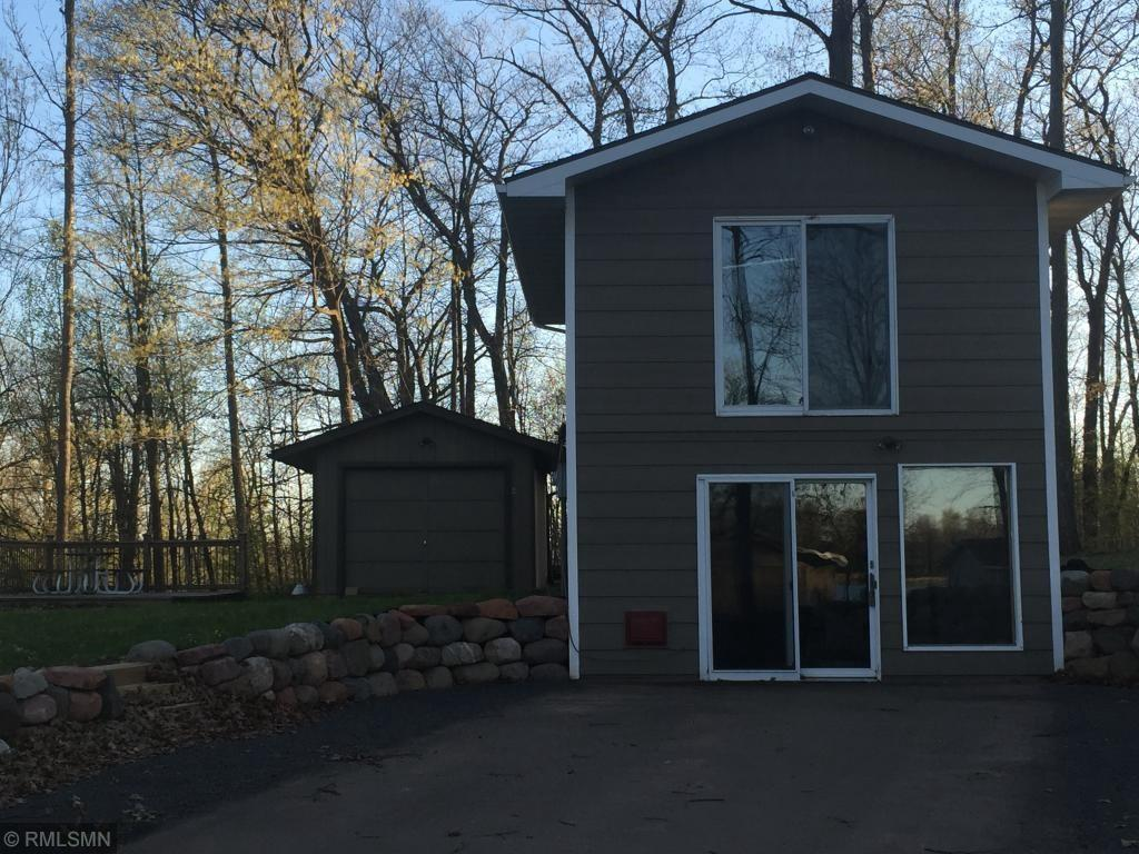 Cozy home or year round cabin with views of Big Blake Lake. Across the road from public access. New Carpet, new appliances, new bathroom sink/vanity. Agent owned.
