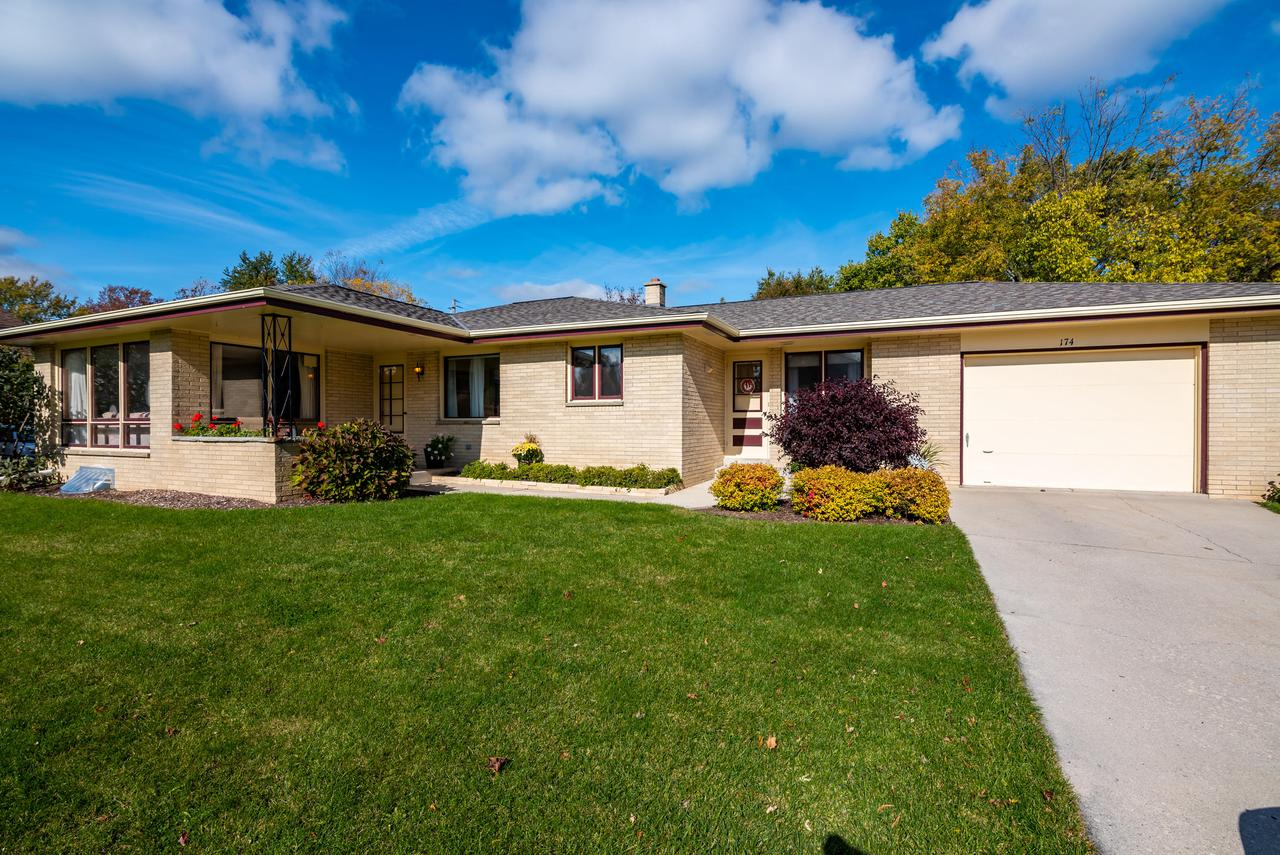 Exceptionally maintained ranch on a larger lot. Two generously sized bedrooms and storage galore. Bonus room that could be used for many different things, large basement awaiting your finishes and oversized 1 car attached garage. Brand new roof.