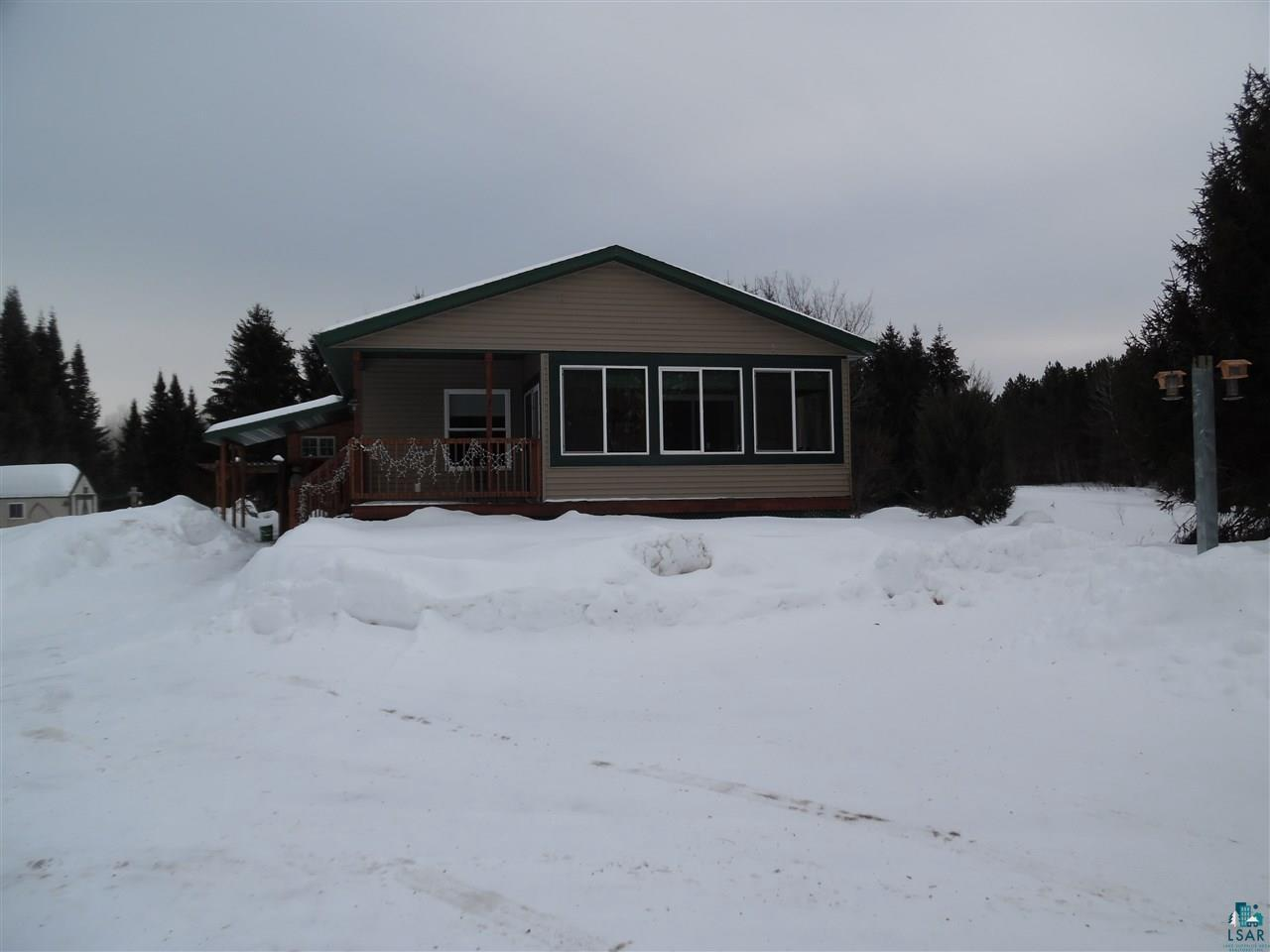 A great value you need to see.  Come take a look at this very well built ranch style home, with 2 full bedrooms and 2 baths on the main level along with main floor laundry.  This home is well built and very efficient to heat and cool.  Comes with 20 acres a garden shed storage shed and a large pole shed being used as a garage.  This home is set up for a 3 bedroom home for the septic use and is a conventional septic system. This home has a full dry basement, with a large rec-room, wood working shop and a nice den can be used as an office.  Also in the basement is a 1/4 bathroom and lots of storage.  Make an appointment today and don't let this one slip away.