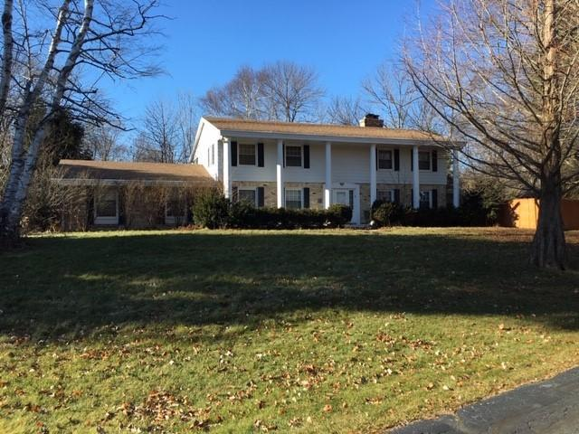 ATTENTION RE-HABBERS!  This 4 BR Colonial in WIND POINT is calling  your name!  Situated on a quiet cul-de-sac with a multi-level deck overlooking a wooded ravine = tranquility!  Formal LR, DR, FR, Great Room, Florida Room, Den, 4 BRs and 1st floor laundry. Master has huge private bath and fireplace. Lower level with rec room and office.  THIS HOME NEEDS WORK AND IS SOLD AS-IS, WHERE IS.   SELLER WILL MAKE NO REPAIRS!!  ALL ROOM SIZES ARE ESTIMATED AND ARE NOT GUARANTEED