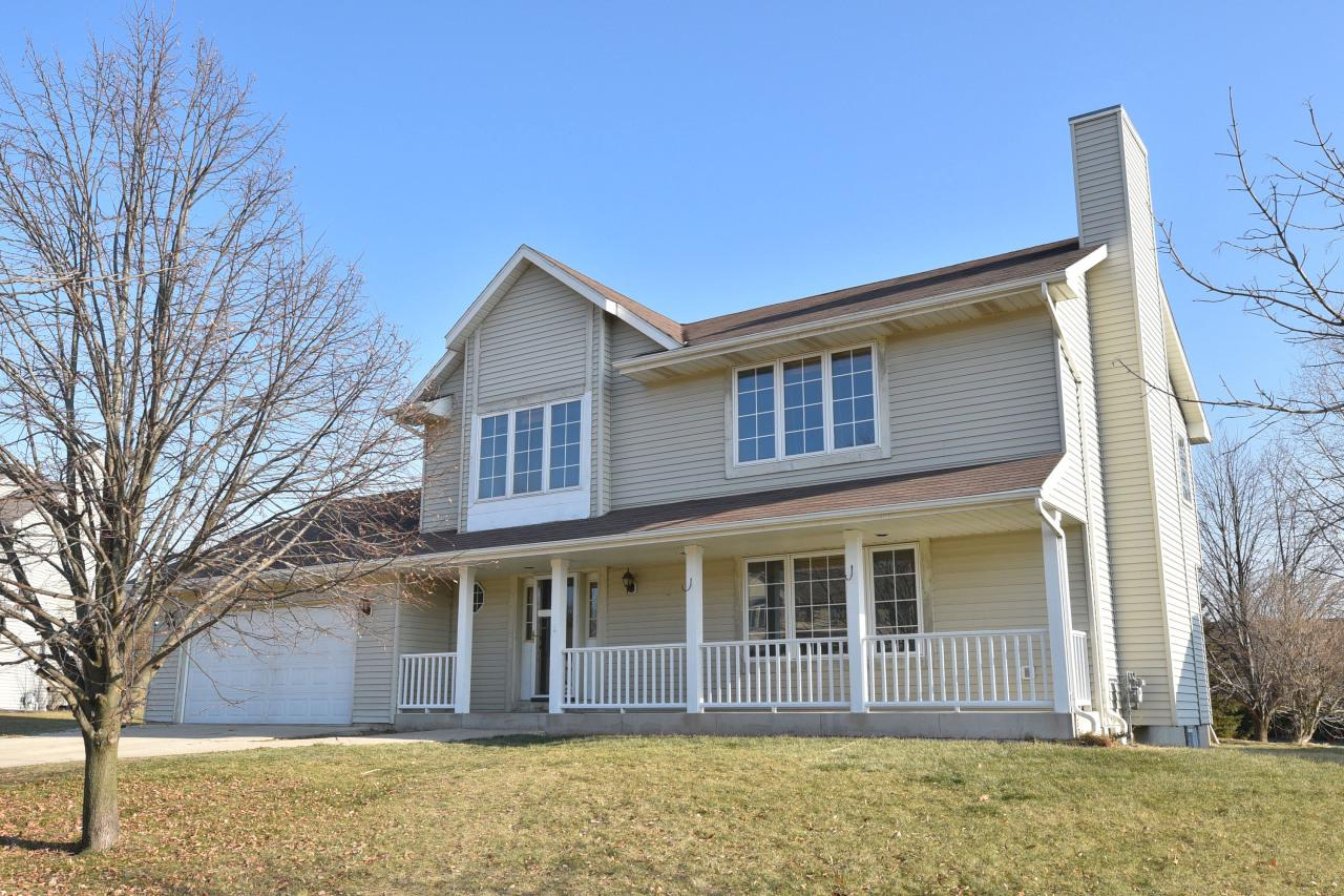 Newer built 5 bedroom Colonial on cul de sac.  Master suite.  Gas Fireplace.  Main Floor Laundry. 1/3 acre lot.  Attached garage.  Clean and ready for next owner.  1 year home warranty included.  Call today!