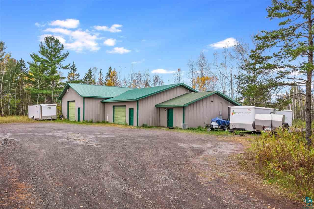 Nestled on 5 acres in Rural Superior is this well built Industrial Warehouse with a live-in 1 bedroom apartment. The Warehouse has a 50'X40' (2,000sq ft) bay with a Propane Heater. Adjacent is another attached bay thats 30'X40' (1,500 sq ft) with in-floor heat. The apartment is nice and updated with hickory cabinets, ceramic tiled floors, bedroom & 3/4 bath. There is plenty of parking, and so many potential business opportunities with this property.