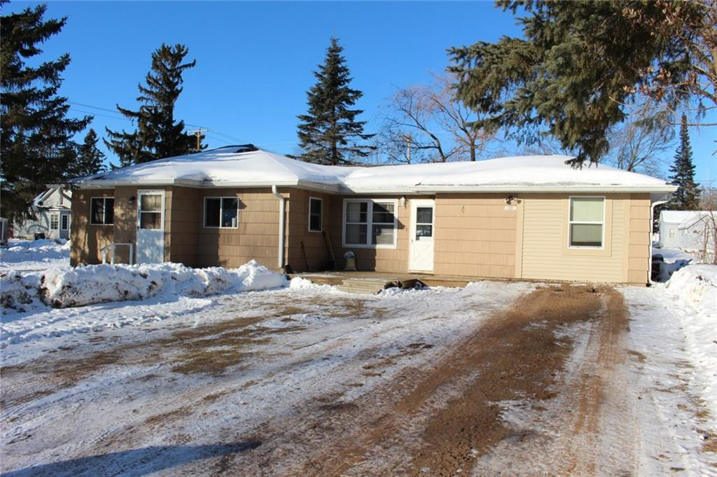 Nice well maintained home in Shell Lake on a corner lot, close to schools, downtown and Shell Lake beach.   4 bedrooms all on one level, brand new roof in 2018, new deck in 2019, spacious living room and extra family room.   BONUS: 12 x24 shed with 2 8' lofts for great storage space! Excellent family or starter home!