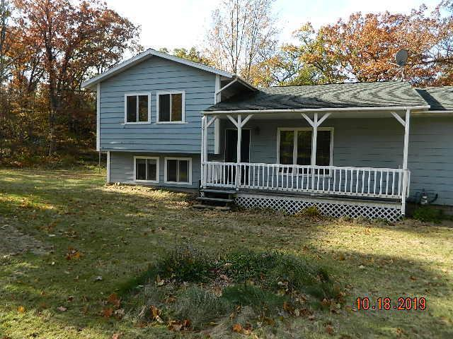 Tucked away this two bedroom one bath home on 5.3 acres is a very pleasant setting. The basement area has been stripped to the studs and is ready to be put back together. There is room for a bedroom in the basement with a bathroom all plumbed, laudry area in the basement. Off the dining area there is a nice sized deck to enjoy cookouts and the summer evenings. Seller is Secretary of Agriculture. Seller to convey title via a quit claim/non-warranty deed only.