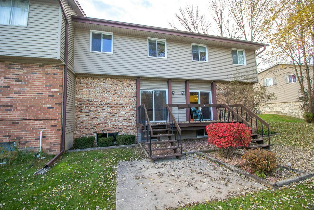 Clean & move in ready 3 BDRM, 1.5 bath condo in the desirable Village of Germantown overlooking the beautiful pond.  Relax & enjoy pond views from the living room, bedrooms & deck/patio! Dining room overlooks the spacious sunken living room & offers a great open concept & an additional huge rec room this makes this home perfect for entertaining for the holidays! Nice & neutral kitchen w/ all appliances included. Fenced in patio/entrance area offers plenty of privacy. Reasonable condo dues & low taxes, don't delay!