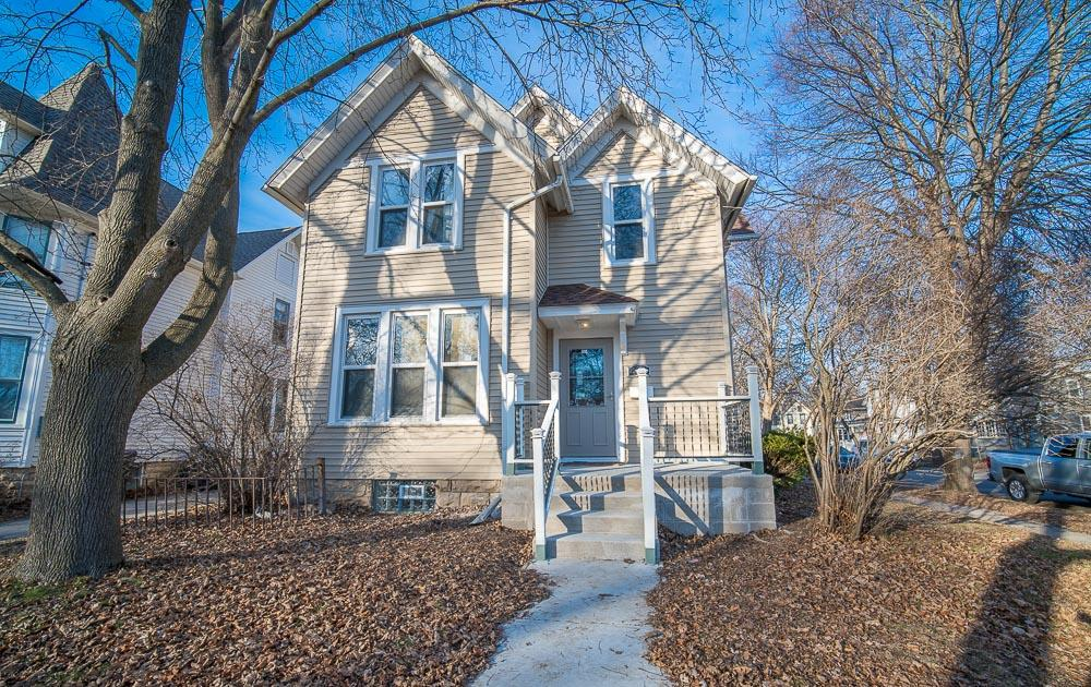 Completely remodeled   Victorian home ideal location in waukesha !!  lovely HWF's refinished , All new SS appliances, and beautiful back splash in kitchen . newer roof  and windows . all new carpet in upstairs  bedrooms .