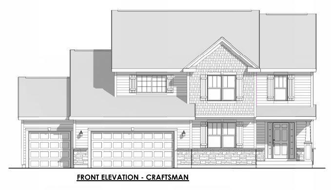 Energy Efficient New Construction! Ready in April! Kitchen includes Island w/overhang,Birch Cabinets, Laminate Floors, Reach-in Pantry and bump out in din. GR includes gas fireplace with stone detail to ceiling, electrical setup for wall-mounted TV, and laminate flooring. Master Suite offers Box Tray Ceiling, 2 Huge Walk-In Closets and 5' Shower. Other Home Highlights include white Painted Doors & Trim, Private Laundry, and Secondary Bedrooms with Walk-in Closet. Flex room, half Bathroom Rough-In in basement for future expansion and much more! Money-Saving Eco-Friendly Features throughout and warranties for piece of mind