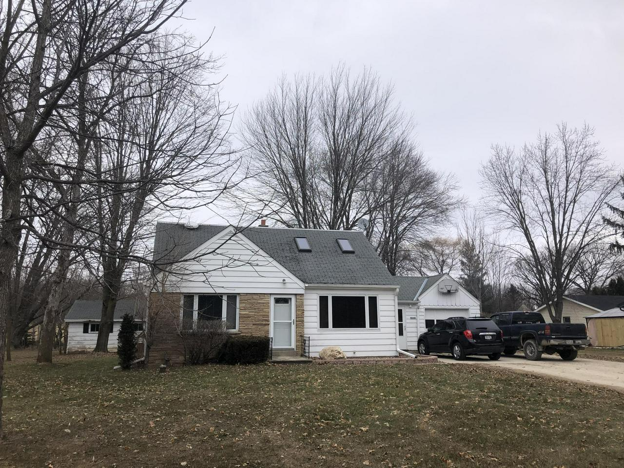 You must see this 3br 2 Bath Cape Cod on a quiet street. You will love the updated kitchen, Beautiful hardwood floors, Master Suit and Office upstairs. Breezeway with patio doors takes you to the park like back yard. Also recently updated Furnace and much more. Schedule your showing today.