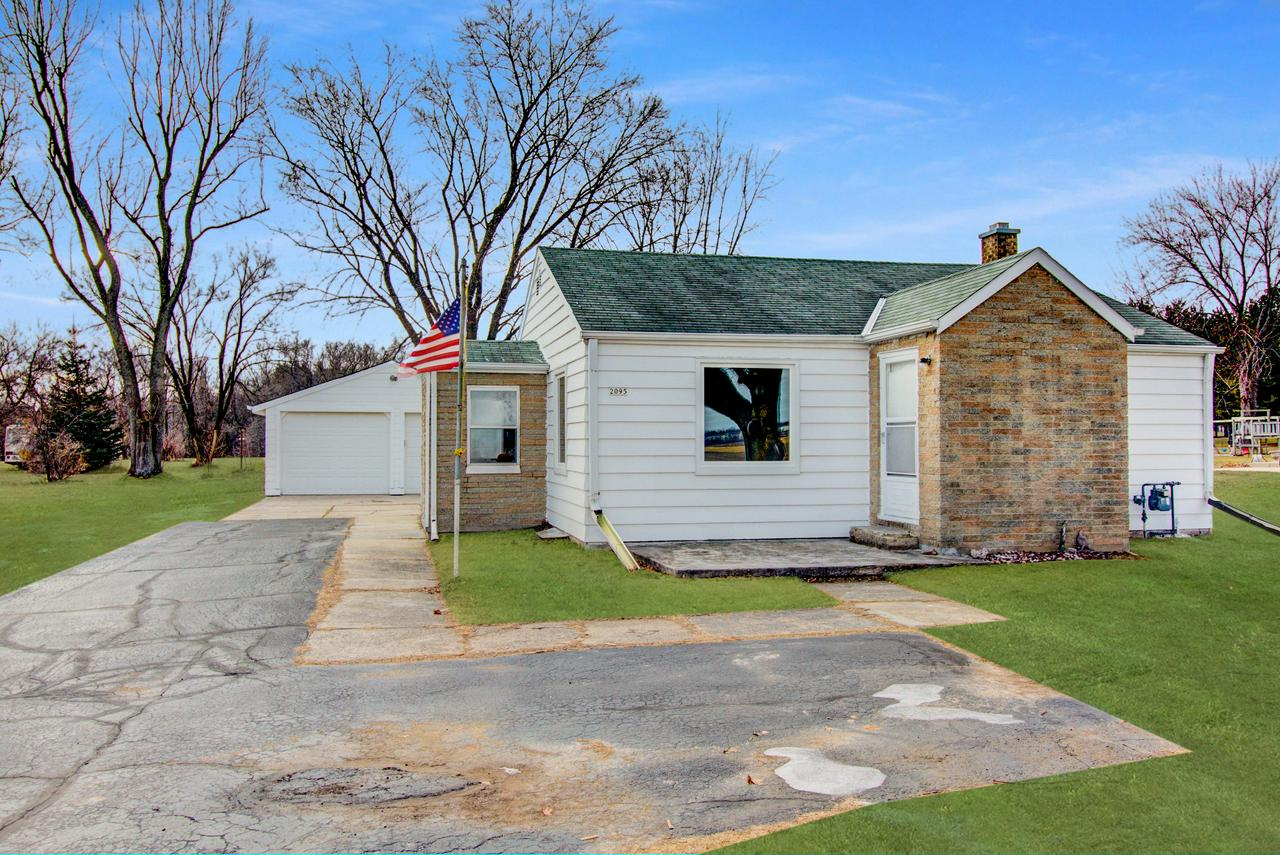 Newly Renovated, 2BD/1BA home nestled on a 1 acre tree lined lot. Eat-In Kitchen boasts new cabinets, countertops, and SS appliances. Spacious Living Room featuring a large picture window allowing an ample amount of natural light. Updated full bathroom on the main level w/linen closet. Master Bedroom with His & Her closets & orig. built in. Bedroom 2 w/walk in closet. Other Updates include: New wood vinyl plank flooring throughout the main level , new carpeting in the bedrooms, interior and exterior paint, interior doors, trim, lighting, & some new windows on the main level.Updated mechanicals: Furnace(2014), AC (2017).
