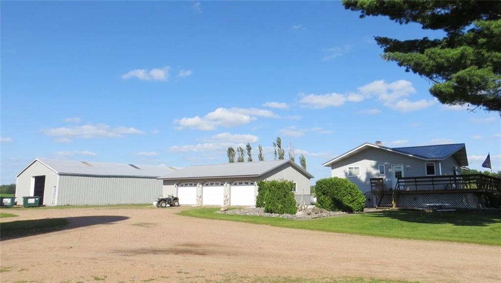 Operating 241-acre Dairy Farm w/ 120-ft 58-tie stall barn & manure pit, 3 silos, 97 acres of well drained tillable ground, ~10 acres of pasture, a very nice 37 year old single story home w/ finished basement & 3-car garage. 40x80 shed, drilled well, & county permitted conventional septic. Excellent hunting options with 128 acres of woods which borders the National Forest. 10 acre site w/ shop East of the main buildings will be retained by seller. Buildings can be purchased with less acreage.
