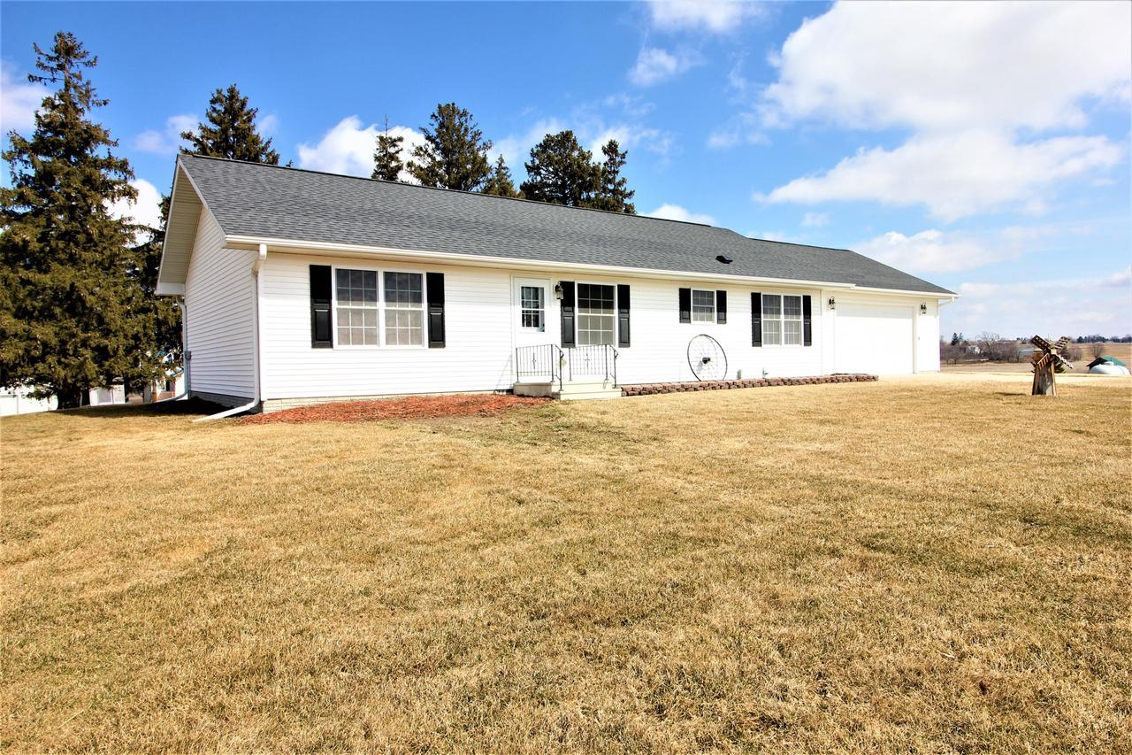 Impeccably maintained hobby farm in the beautiful Driftless Region.  This beautiful 10 acre farmette is located just 30 minutes from La Crosse.  Move right in to this newer, ranch style home with 3 bedrooms and 2 baths and laundry on the main floor, and easily finish the basement for additional living space.  The basement is as clean and dry as they come, plus it's already stubbed for an additional bathroom and has an egress window for a 4th bedroom.  The barn is ready for your animals, and the 40x80 shed has plenty of space for your toys and equipment.  Acreage includes fenced pasture plus 5 acres tillable.  Large yard with lots of room for a garden.  VERY neat and clean property in a great location!
